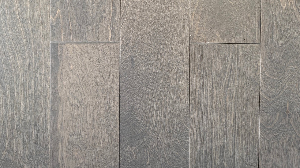 Engineered flooring 5 inch x 1/2 thickness Birch Silver Hoe
