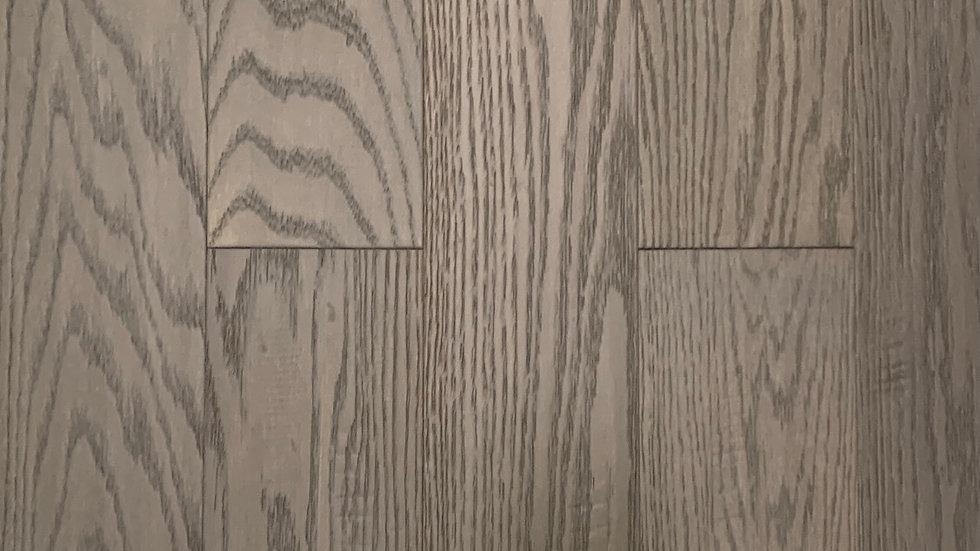 Engineered hardwood click 4.7 width x3/8 colour dark grey