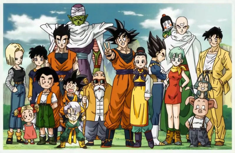 Dragon-Ball-Z-Group-Photo-Goku-Piccolo-Vegeta-and-more