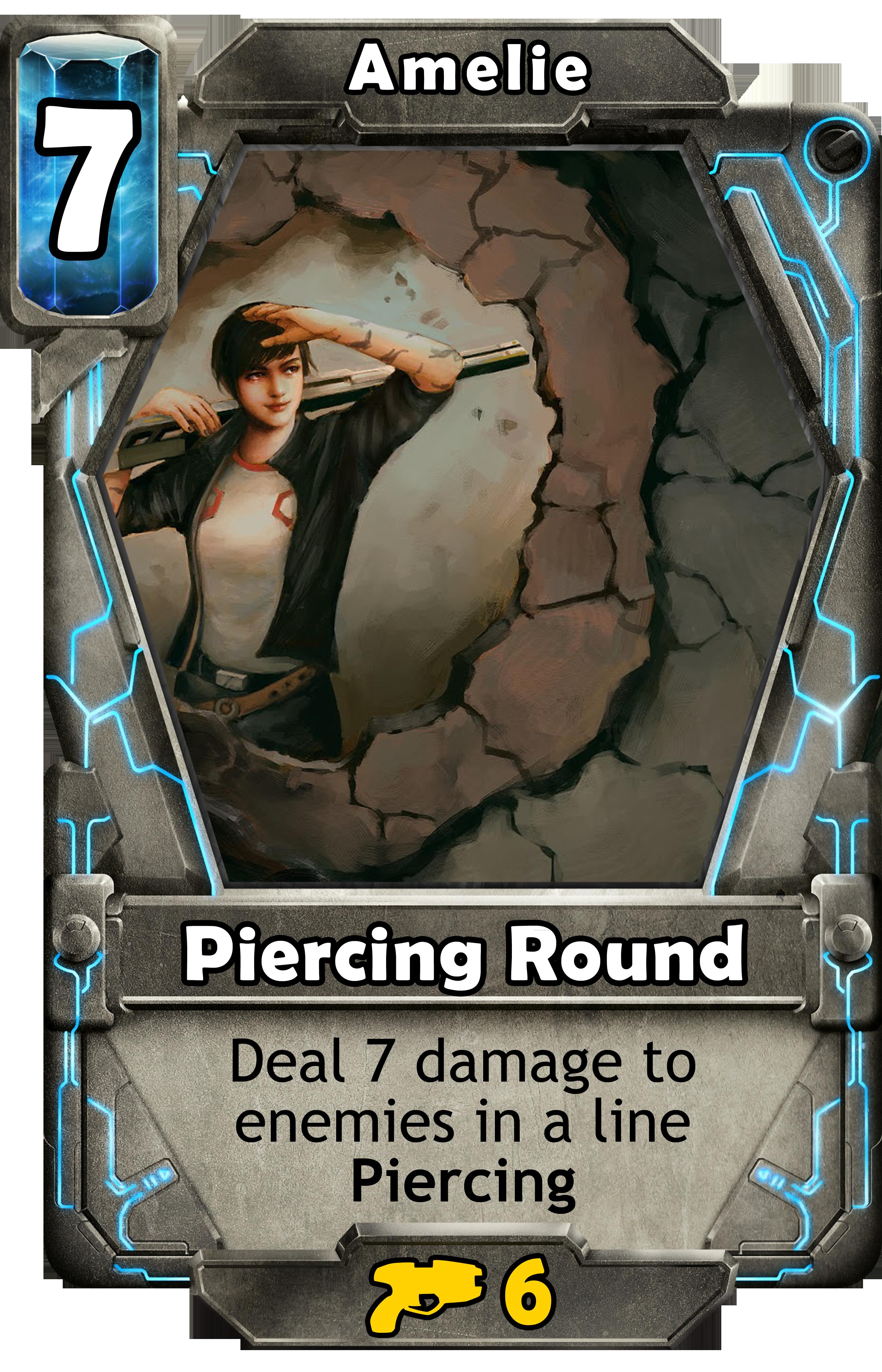 Piercing Round