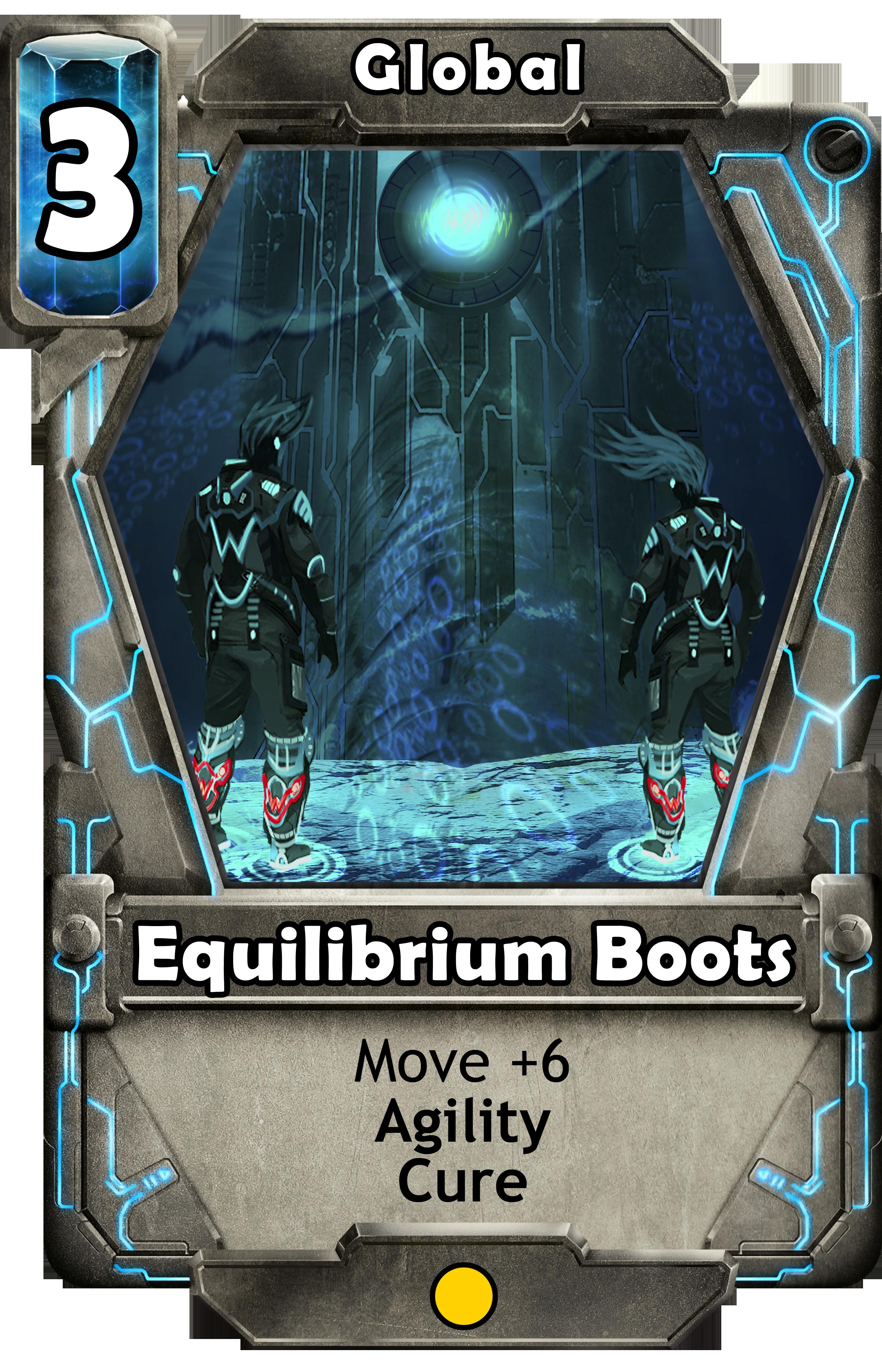 Equilibrium Boots