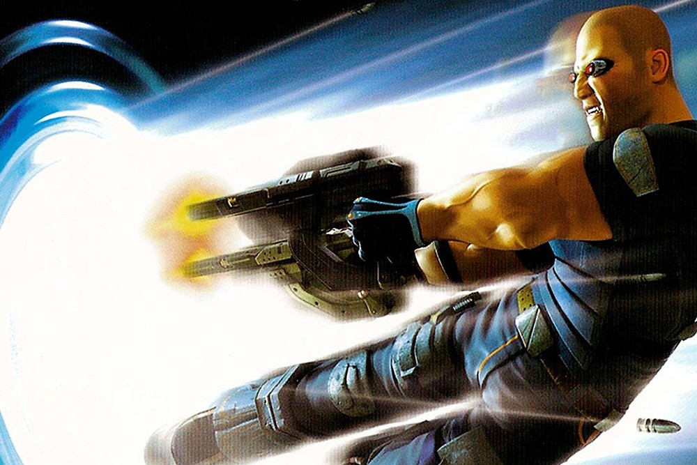 Timesplitters-Diving-Shot-Polygon