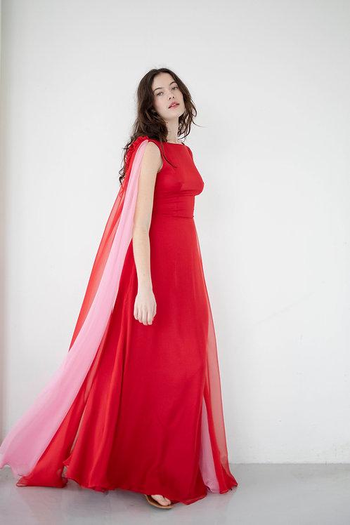 ALBA CANDY SILK DRESS