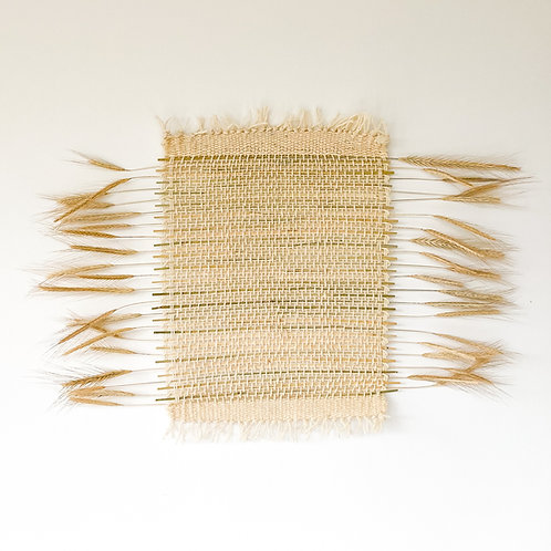 Wallhanging from winter rye