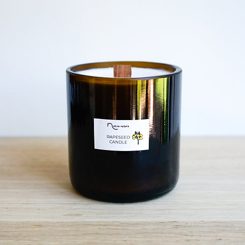 Rapeseed candle large
