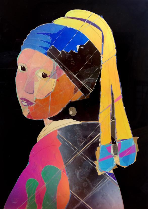 La jeune fille polarisée