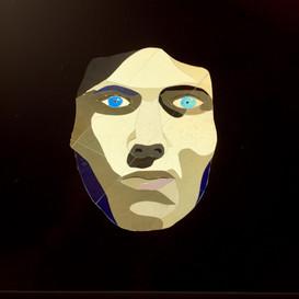 L'homme aux yeux bleux