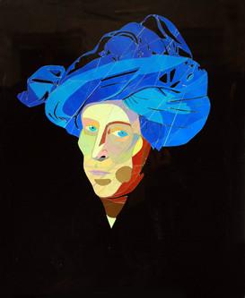 Homme au turban bleu