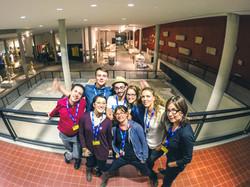 L'équipe Tessel Pixel à Museomix