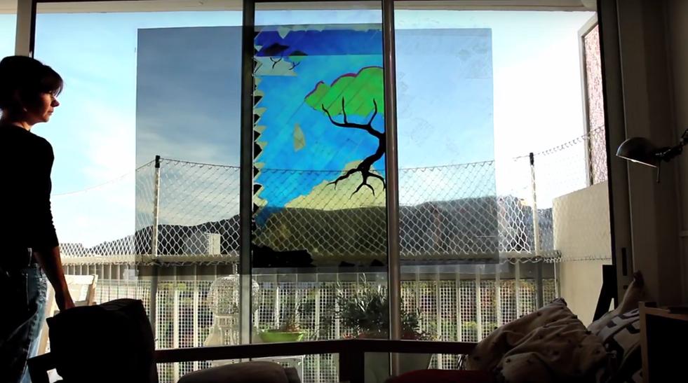 graff de vitre