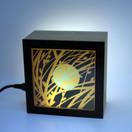 lampe KINO motif bourgeons