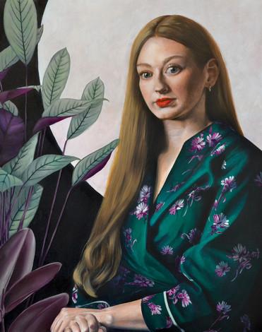 Bri Lee: Oil painting