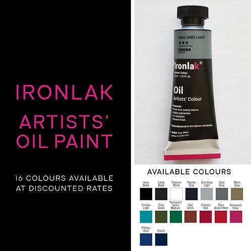 Ironlak Artists' Oil Paint