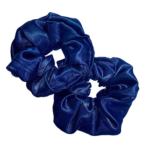 Night Sky Satin Scrunchie