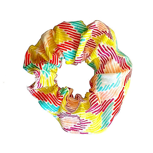 Splash of Colour Scrunchie