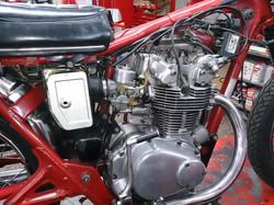 HONDA CB450 1972 - motor