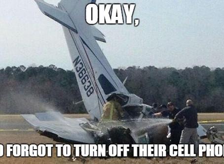 O Meu Celular Vai Derrubar Um Avião?!