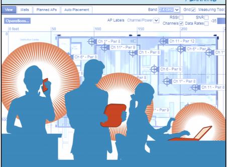 Como Implantar uma Rede Wi-Fi (1) - Cobertura e Capacidade