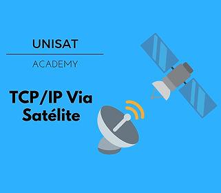 tcp ip via satélite