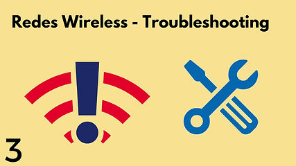 redes wireless troubleshooting
