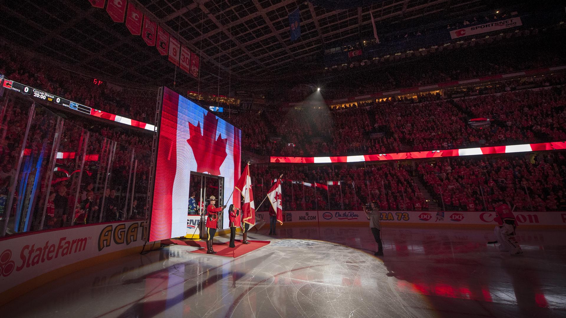 Calgary Flames Season Opener