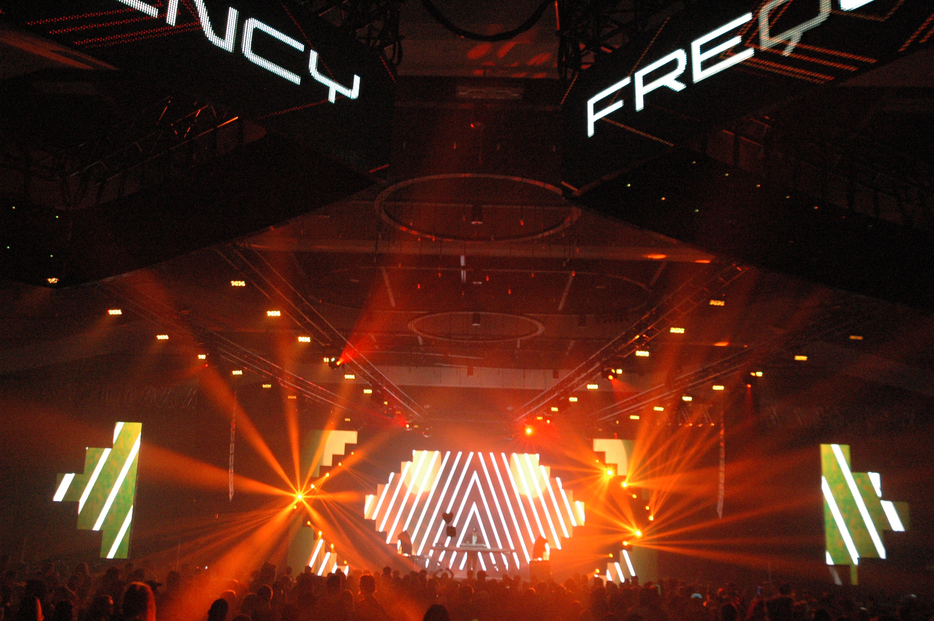 LED screens @ Frequency