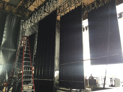 On stage led