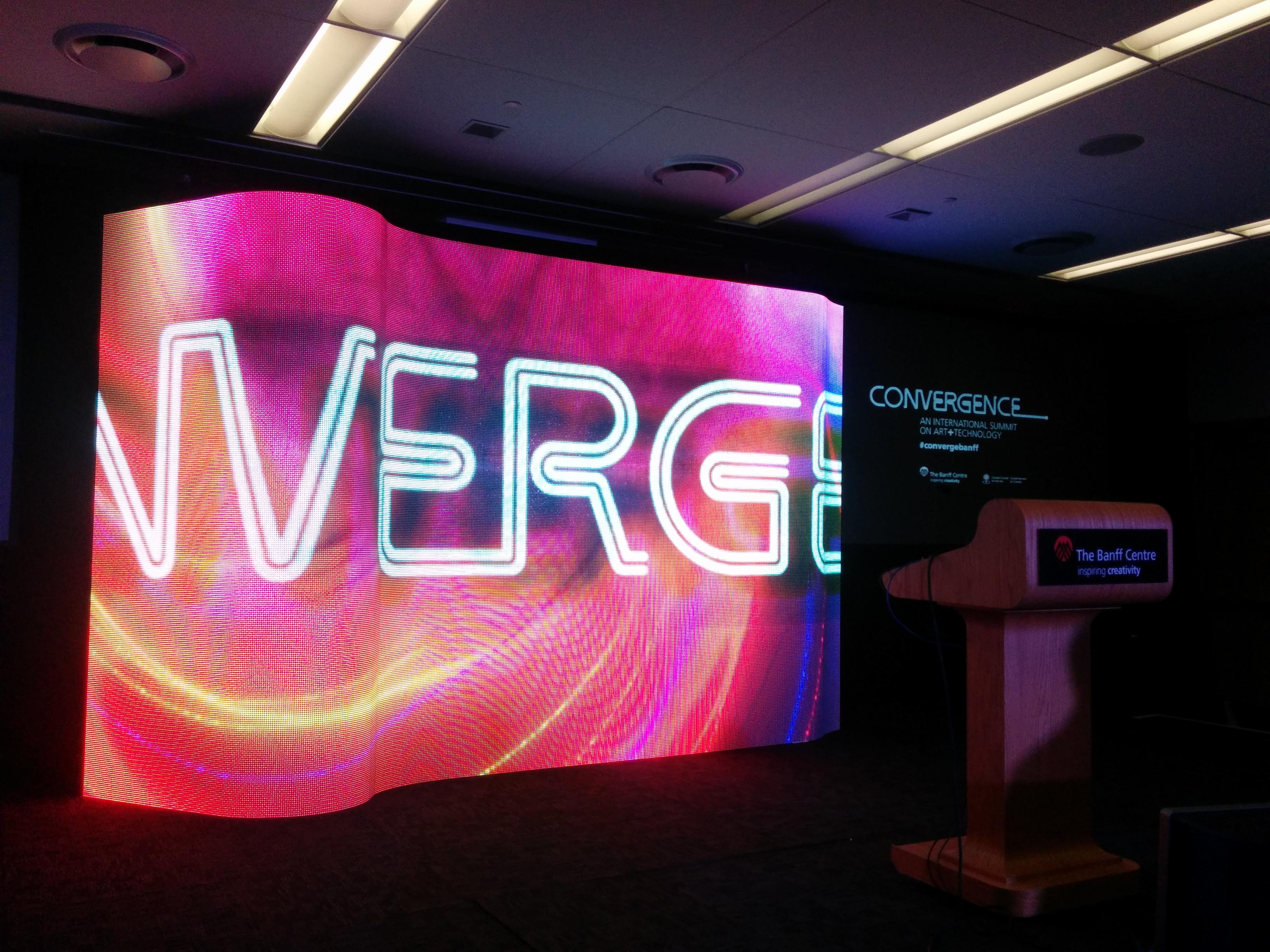LED eyecandy @ Convergence