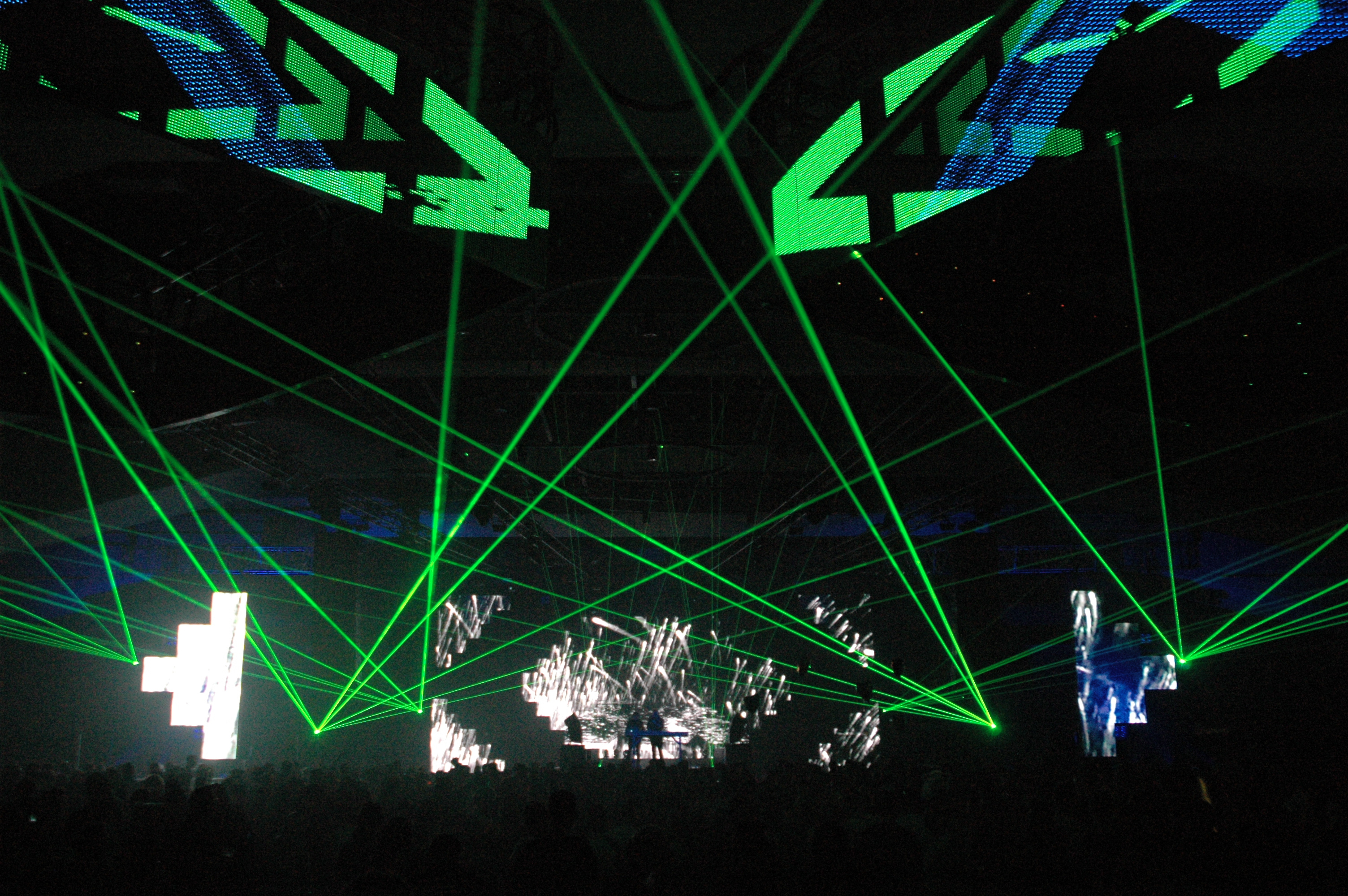 LED walls @ Frequency