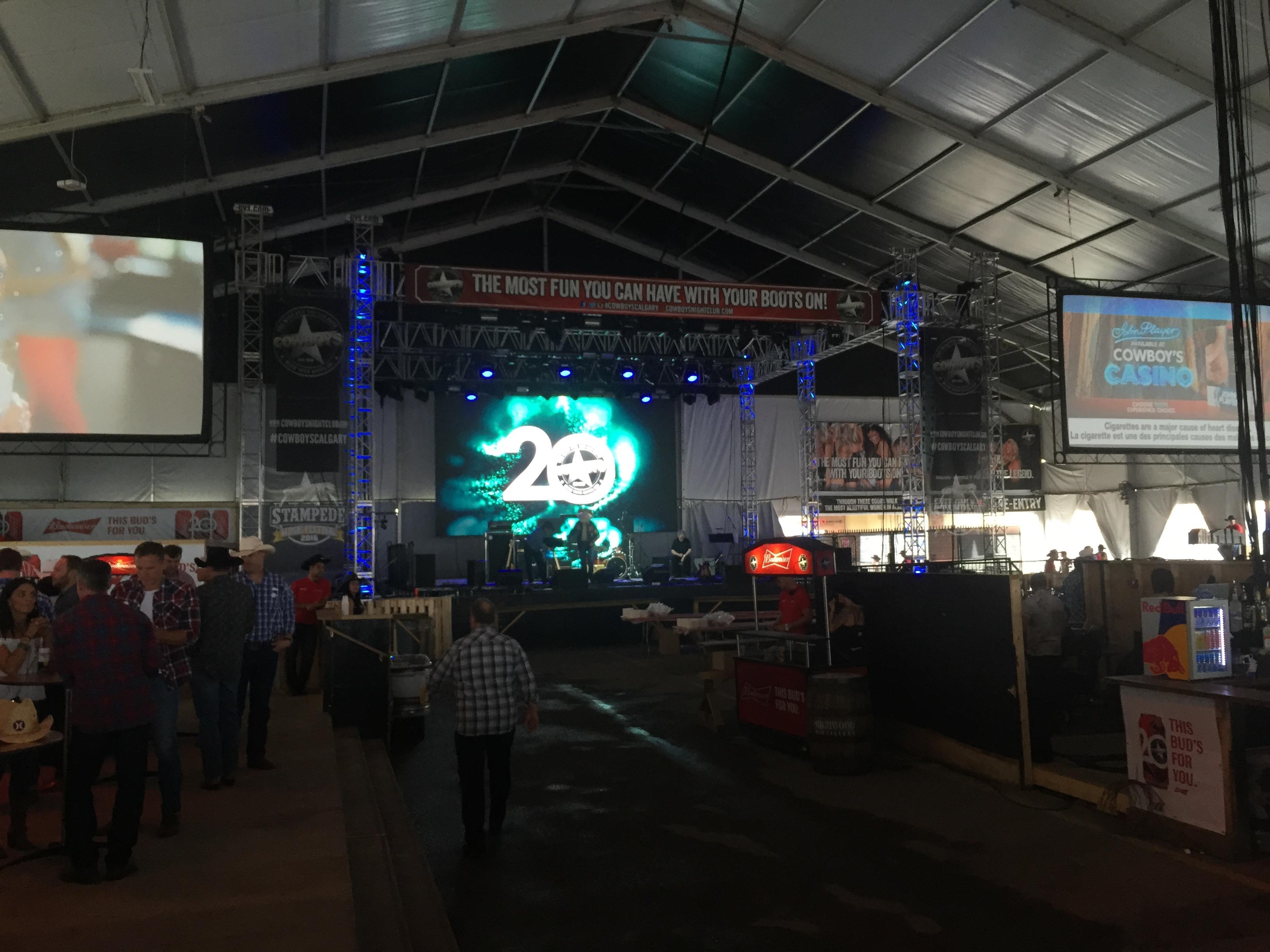 Stampede Cowboys Tent