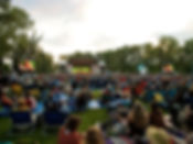 IMAG LED screens at The Calgary Folk Music Festival