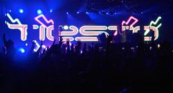 LED walls @ DJ Tiesto