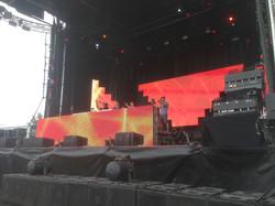 DJ & upstage LED @ Chasing Summer