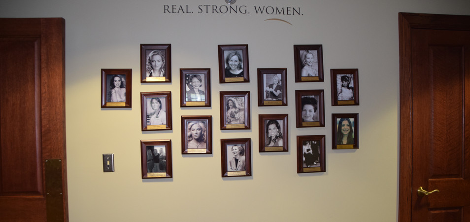 Wall of Famous Alpha Chis