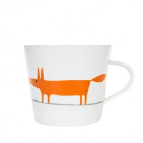 Scion Living Ceramic & Orange Mr Fox Mug