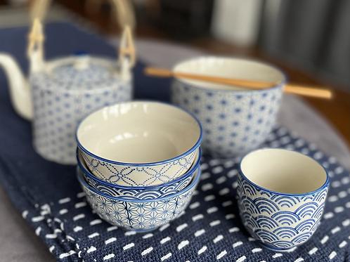 Sashiko teapot