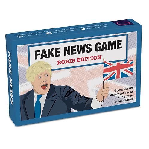 Fake News Game: Boris Edition