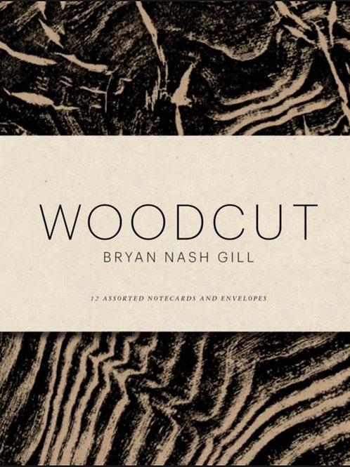 Woodcut notecards and envelope set