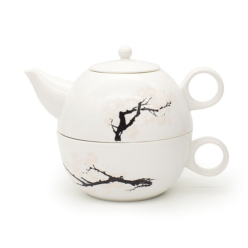 Blossom Morph Teapot and Cup for One