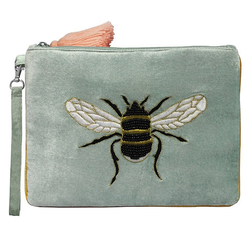House of Disaster Eden Pouch with Bee Design