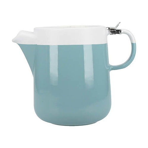 La Cafetiere Barcelona 4 Cup Teapot with Filter Retro Blue