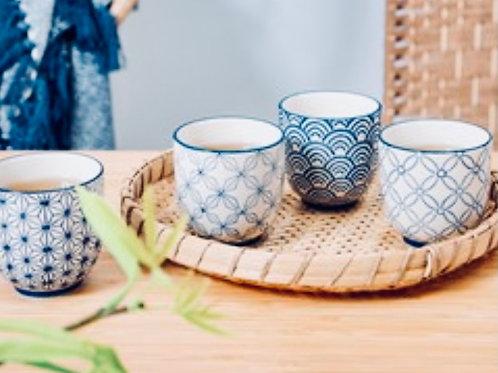 Sashiko cups assorted designs