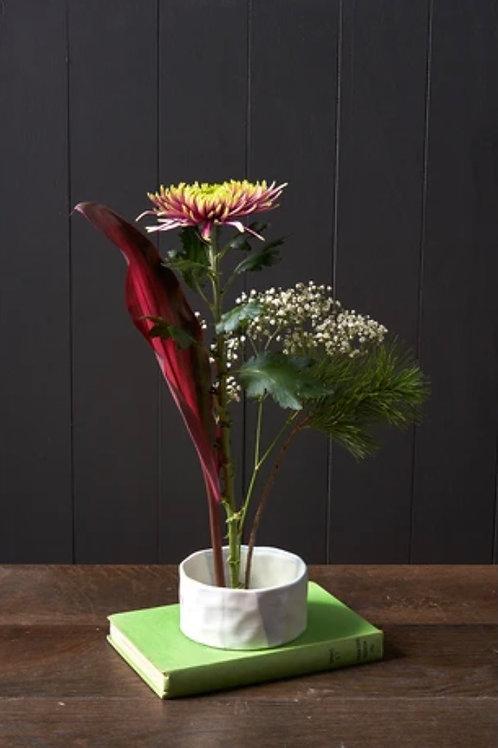 Japanese flower arranging bowl