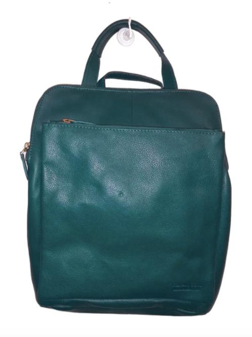 Vera Tucci 'Layla' Italian Leather Backpack