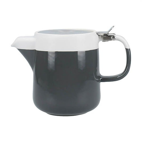 La Cafetiere Barcelona 2 Cup Teapot with Filter Cool Grey