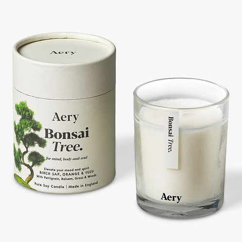 Aery Bonsai Tree Scented Candle