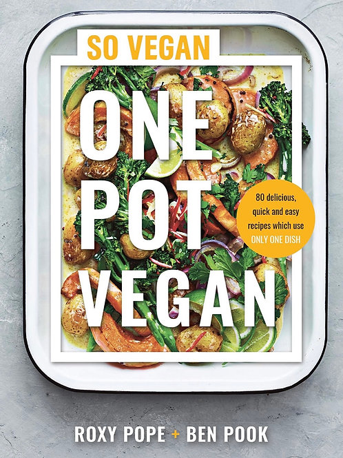 One pot vegan recipe book