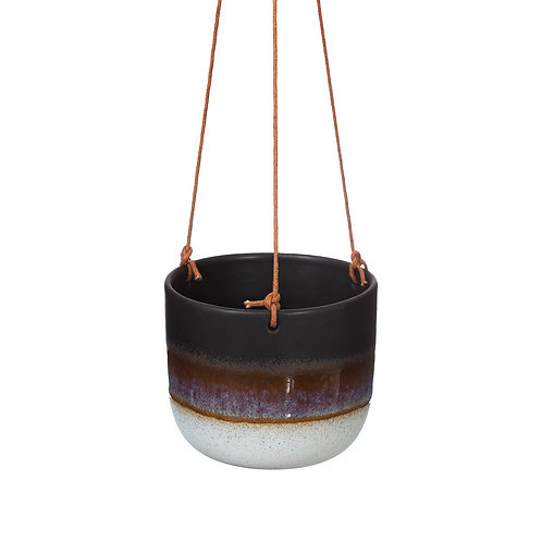 Sass & Belle Mojave Glaze Hanging Planter - Two Colours