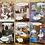 Thumbnail: Set of 6 Kiss Me Kwik greetings cards