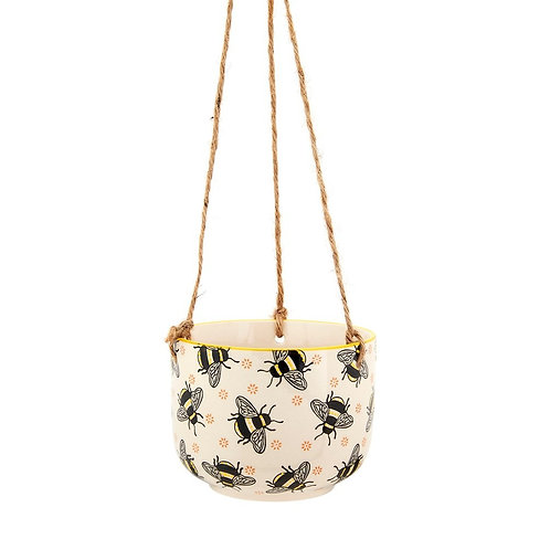 Sass & Belle Busy Bees Hanging Planter